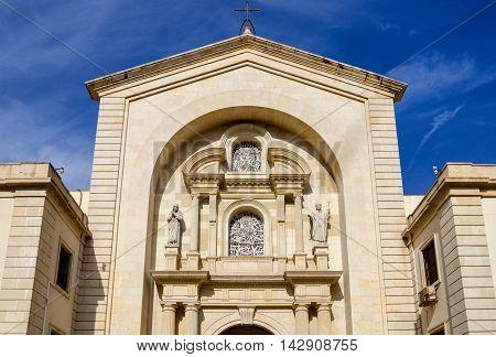 Church Parroquia Nuestra Senora de Gracia Alicante, Spain