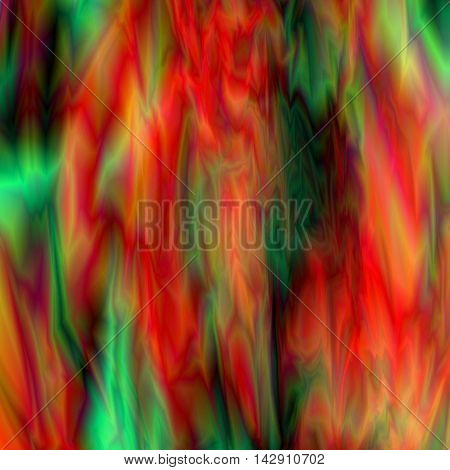 Abstract red and green marble gradient background, futuristic fabric, silk texture with ambient occlusion effect for design concepts, presentations, web and prints. Vector illustration.