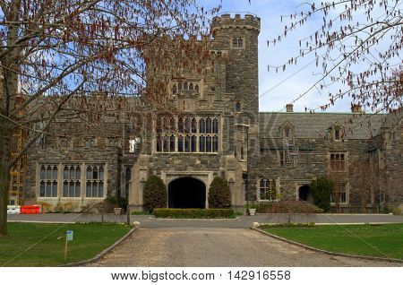 Add to dictionary Castle replica.  Long Island New York