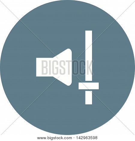 Channel, sound, mixer icon vector image. Can also be used for music. Suitable for web apps, mobile apps and print media.