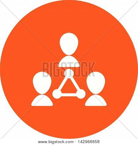 Customer, target, channel icon vector image. Can also be used for customer services. Suitable for web apps, mobile apps and print media.