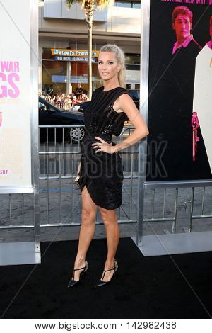 LOS ANGELES - AUG 15:  Heather Morris at the War Dogs