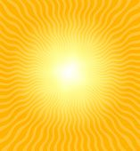 Really hot summer sun - illustration / background / wallpaper poster