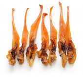 himegai, japanese food delicacy, dried marine product of trough shell poster