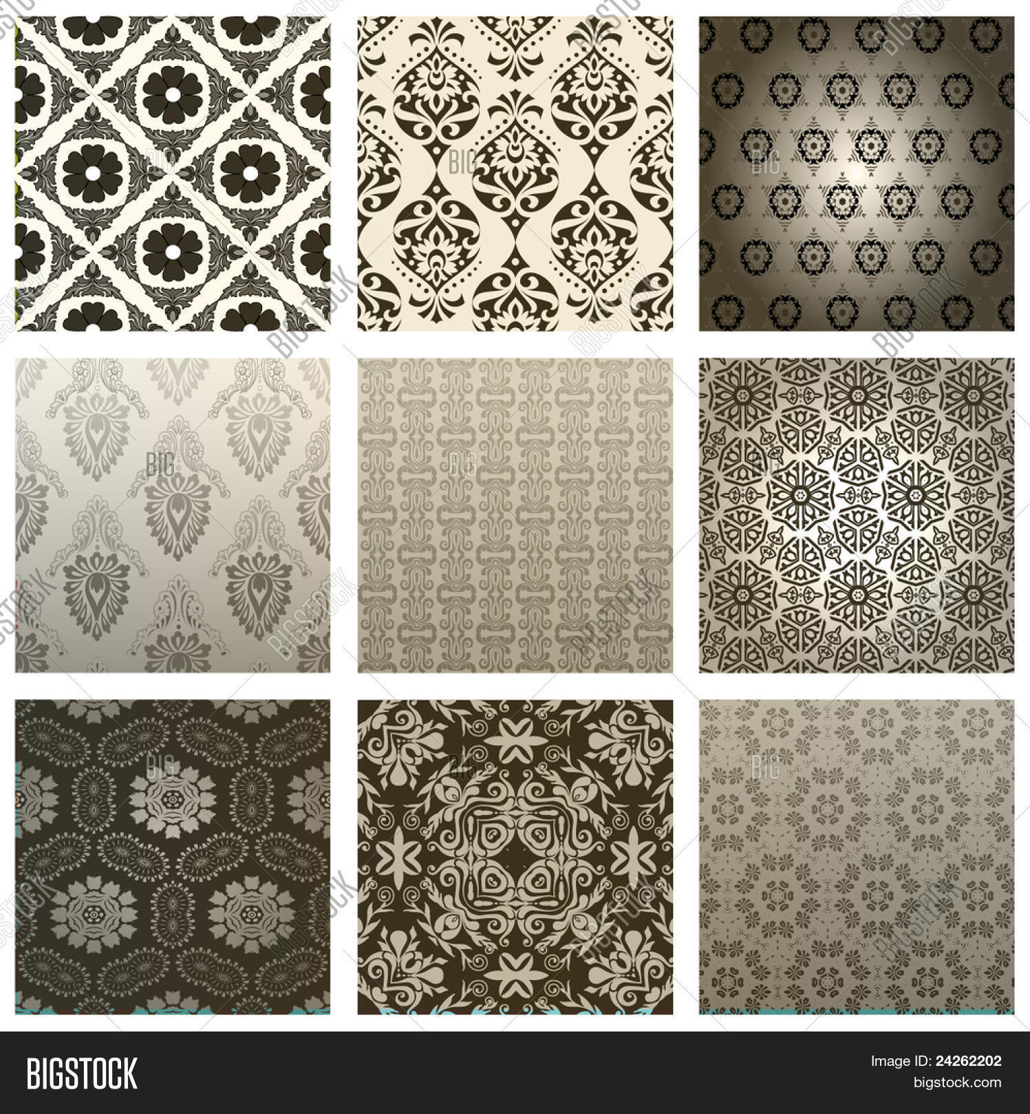 Retro Wallpaper Vector Photo Free Trial Bigstock