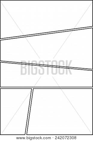 Comic Storyboard Vector Photo Free Trial Bigstock