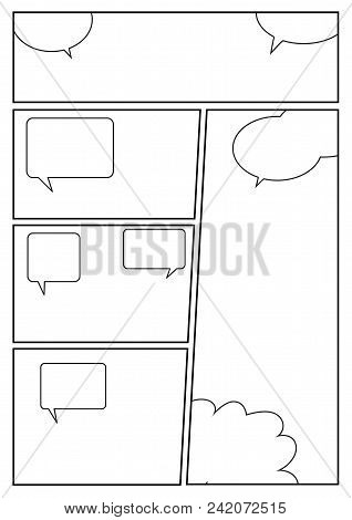 Manga Storyboard Image Photo Free Trial Bigstock
