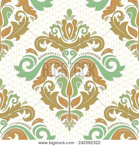 Classic Seamless Colored Pattern. Traditional Orient Ornament. Classic Vintage Background
