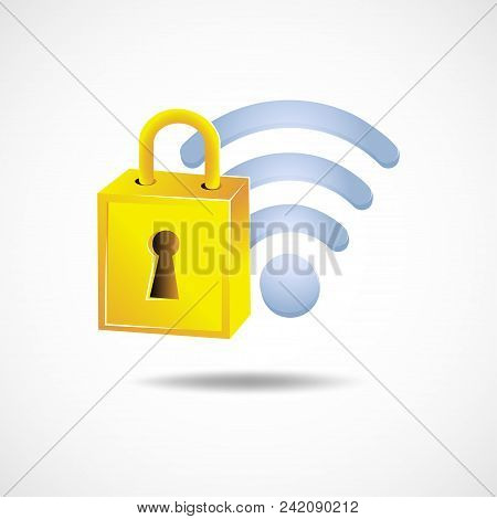 Gradient Icon Gdpr - General Data Protection Regulation Law Of The European Union. Security Technolo