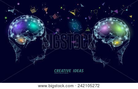 Human Brain Iq Smart Business Concept. E-learning Nootropic Drug Supplement Braingpower. Brainstorm