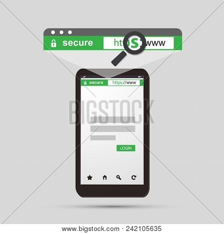 Https Protocol - Safe And Secure Browsing On Mobile Phone And Tablet