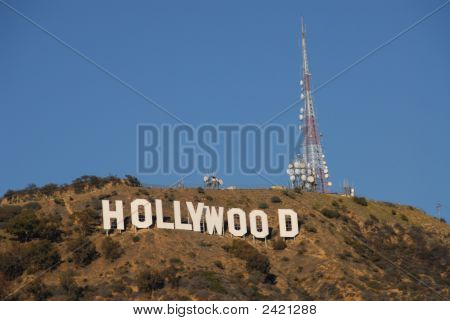 Hollywood Sign - Full View