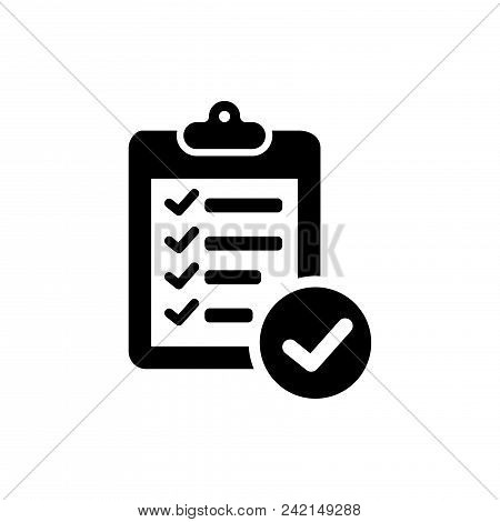 Verification Vector Icon Flat Style Illustration For Web, Mobile, Logo, Application And Graphic Desi