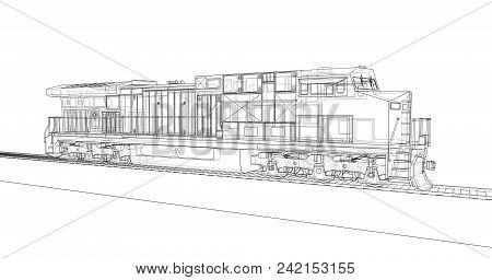 Modern Diesel Railway Image & Photo (Free Trial)   Bigstock