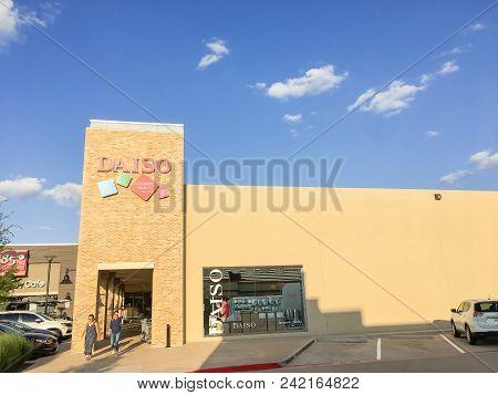 Daiso Japanese Supermarket In Carrollton, Texas, Usa