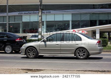 Private Old Car Honda Civic