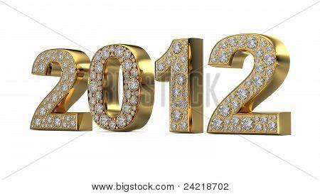 Golden 2012 With Diamonds