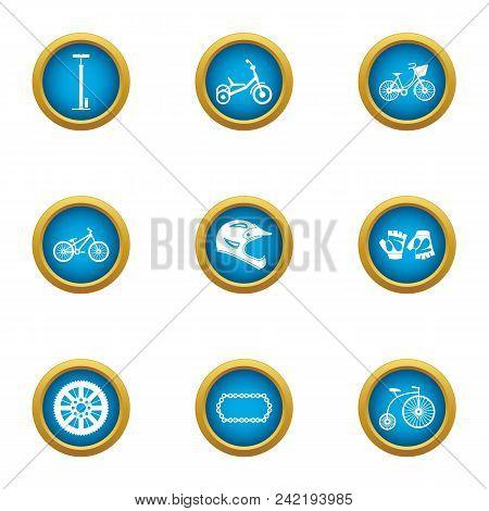 Motorshow Icons Set. Flat Set Of 9 Motorshow Vector Icons For Web Isolated On White Background