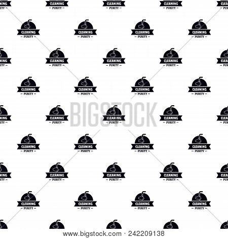 Cleaning purity pattern vector seamless repeat for any web design poster