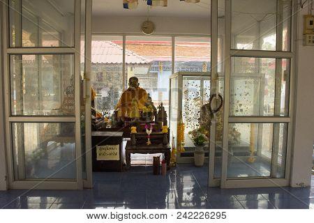 Wat Khao Orr In Phatthalung, Thailand.