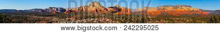 Extreme Panorama Of Sedona Arizona