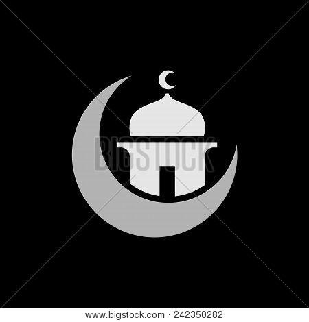 Islam Or Islamic Design, Ramadan Kareem, Ramadhan Mubarak, Suitable For Black Or Dark Background
