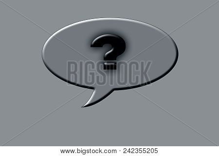 Creative Presentation Of Question Mark Or Question Tag Or Question Icon.