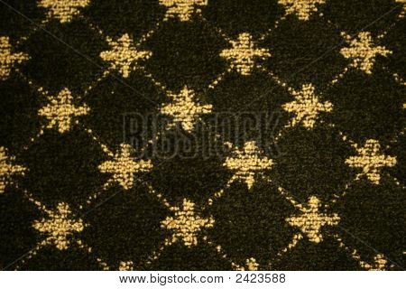 Pattern On Wool Carpet