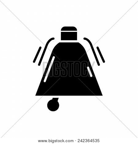 Call To Action Black Icon Concept. Call To Action Flat  Vector Website Sign, Symbol, Illustration.