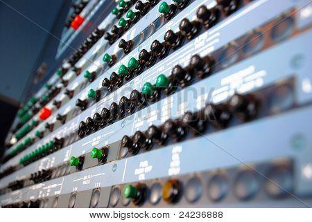 Aircraft Circuit Breakers Panel