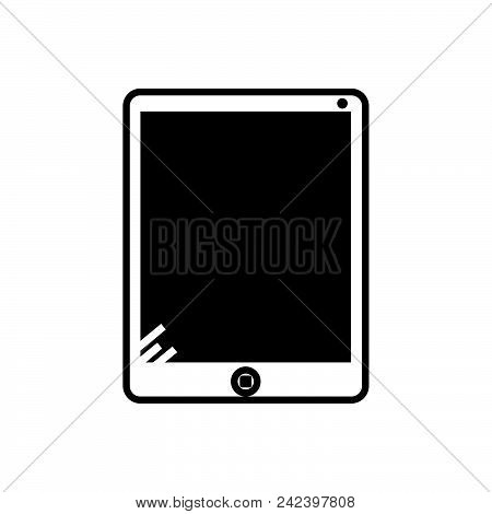 Tablet Vector Icon On White Background. Tablet Modern Icon For Graphic And Web Design. Tablet Icon S