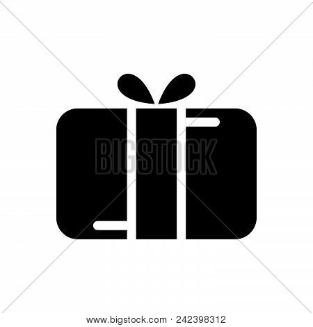 Gift Vector Icon On White Background. Gift Modern Icon For Graphic And Web Design. Gift Icon Sign Fo