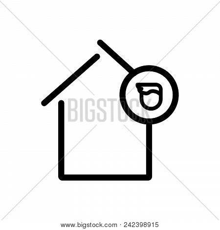 House Owner Outlined Symbolof Landlord. House Icon. House Icon Vector Eps. House Icon Image Jpg