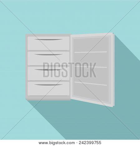 Mini Freeze Icon. Flat Illustration Of Mini Freeze Vector Icon For Web Design