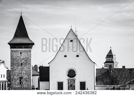 Church Of St. John The Baptist, Znojmo, Southern Moravia, Czech Republic. Religious Architecture. Tr