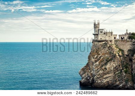 Castle Of Swallow's Nest On The Sea Rock, Crimea