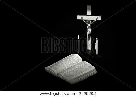 Crucifix Candles