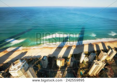 Surfers Paradise - April 26: Surfers Paradise Beachfront, One Of The Most Popular Holiday Destinatio