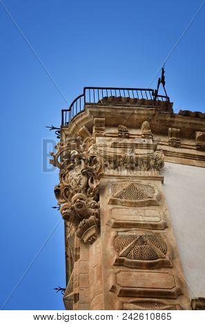 Italian Baroque Architecture in Scicli, Sicily, one of the symbolic cities of Baroque age
