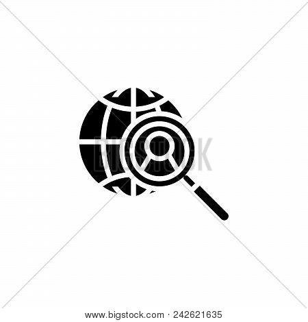 Hiring Personnel Black Icon Concept. Hiring Personnel Flat  Vector Website Sign, Symbol, Illustratio