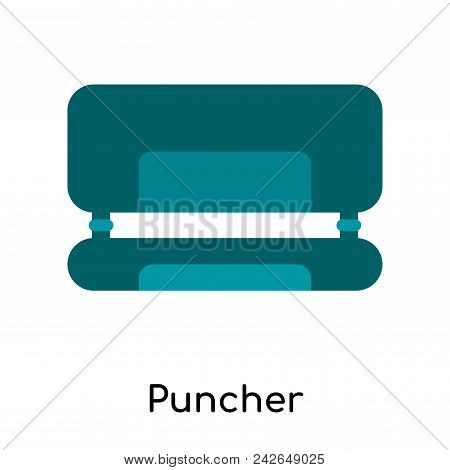 Puncher Icon Isolated On White Background For Your Web And Mobile App Design