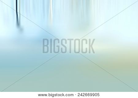 Shadow And Light - Abstract Blue Background