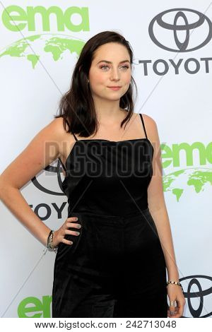 LOS ANGELES - MAY 22:  Gwen Malick at the 28th Annual Environmental Media Awards at the Montage Beverly Hills on May 22, 2018 in Beverly Hills, CA