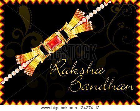 Abstract Raksha Bandhan Wallpaper