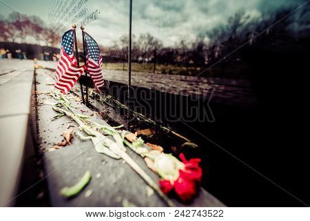 Flag On The Wall