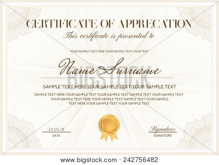 Certificate Of Attendance Template Free from static3.bigstockphoto.com