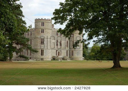 Castle Lulworth In England