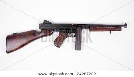 American Tommy Gun.