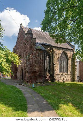 Exterior Of St Chad's Church In Shrewsbury