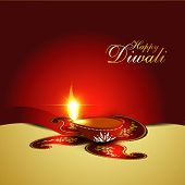 Indian diwali festival vector background poster